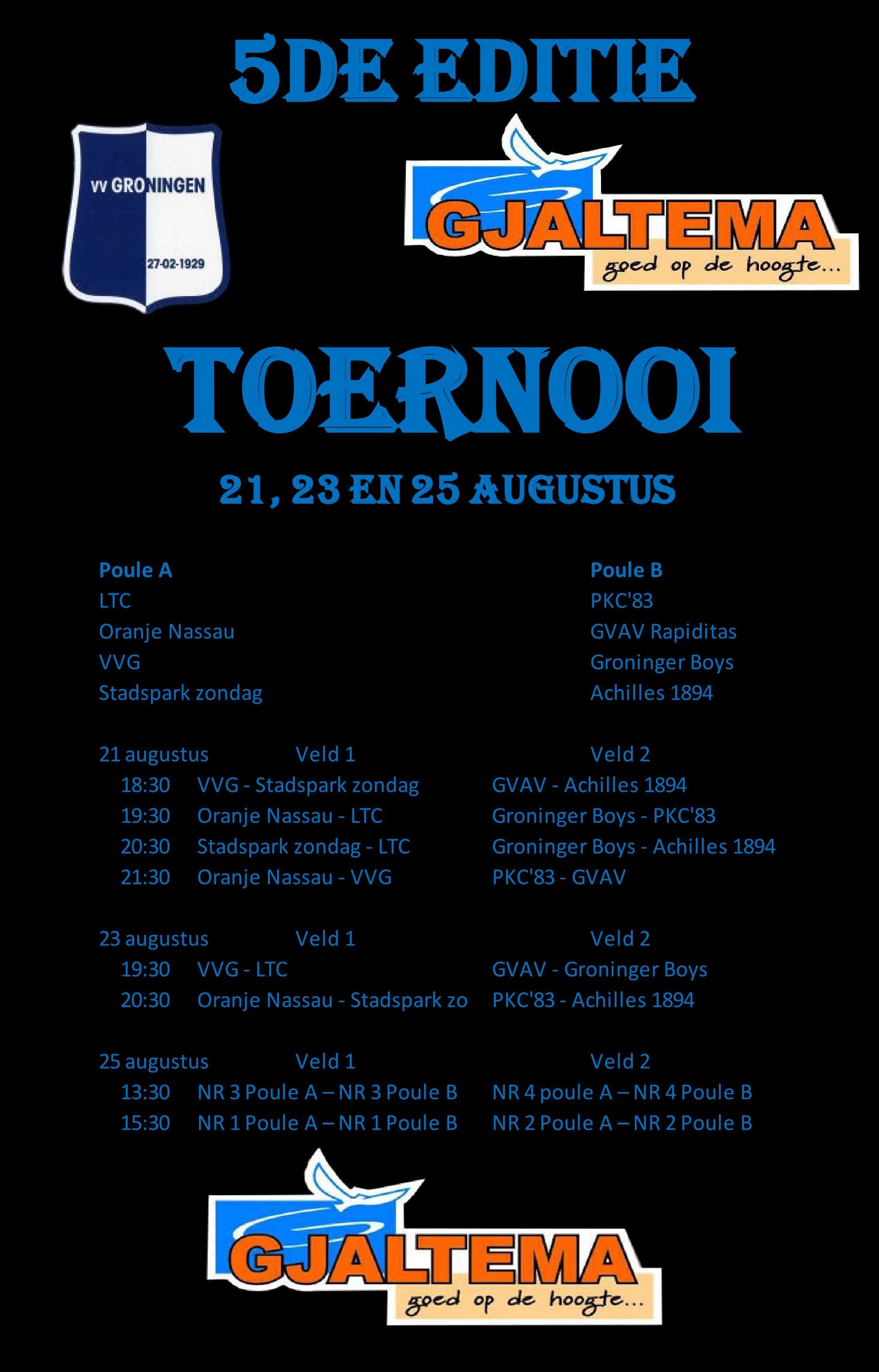 Poster Toernooi